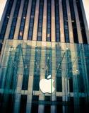 Κατάστημα Νέα Υόρκη της Apple Στοκ Φωτογραφίες