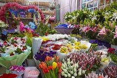 Κατάστημα λουλουδιών Στοκ Εικόνες