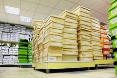κατάστημα παπουτσιών κορ&io Στοκ φωτογραφία με δικαίωμα ελεύθερης χρήσης