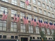 Κατάστημα Πεμπτών Λεωφόρος της Saks στην πόλη της Νέας Υόρκης Στοκ Εικόνα