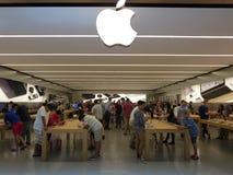 Κατάστημα ρολογιών της Apple Στοκ Εικόνες