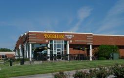 Κατάστημα σάντουιτς Potbelly, Overland Park, KS Στοκ Φωτογραφία