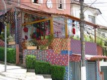 κατάστημα Σάο του Paulo γωνιών Στοκ Εικόνα