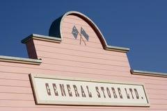 κατάστημα σημαδιών Στοκ εικόνα με δικαίωμα ελεύθερης χρήσης