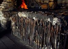 Κατάστημα σιδηρουργών Στοκ φωτογραφίες με δικαίωμα ελεύθερης χρήσης