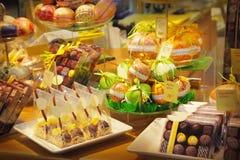 κατάστημα σοκολάτας Στοκ Φωτογραφίες