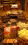 κατάστημα σοκολάτας Στοκ Εικόνες