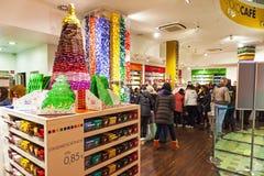 Κατάστημα σοκολάτας RitterSport στο Βερολίνο, Γερμανία Στοκ Φωτογραφίες