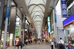 κατάστημα στη Χιροσίμα, Ιαπωνία Εντελώς από την ατομική βόμβα Στοκ εικόνες με δικαίωμα ελεύθερης χρήσης