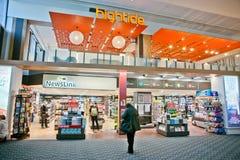 Κατάστημα στον αερολιμένα Στοκ φωτογραφίες με δικαίωμα ελεύθερης χρήσης