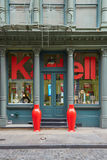 Κατάστημα σχεδίου Kartell στην οδό Greene, στη Νέα Υόρκη Στοκ Εικόνα