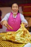 Κατάστημα τηγανιτών κινεζικού bazaar στοκ εικόνα