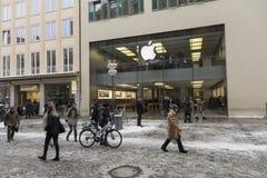 κατάστημα της Γερμανίας Μόναχο μήλων Στοκ εικόνα με δικαίωμα ελεύθερης χρήσης