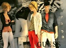 κατάστημα της Ιταλίας εικασίας μόδας Στοκ Εικόνες
