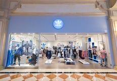 Κατάστημα της Adidas στο ενετικό θέρετρο ξενοδοχείων και χαρτοπαικτικών λεσχών του Μακάου στο Μακάο Στοκ Φωτογραφία