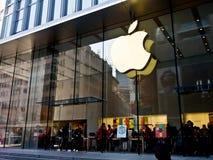 Κατάστημα της Apple, Σαγκάη, Κίνα 2 Στοκ φωτογραφία με δικαίωμα ελεύθερης χρήσης