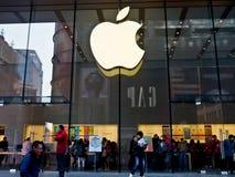 Κατάστημα της Apple, Σαγκάη, Κίνα 3 Στοκ φωτογραφία με δικαίωμα ελεύθερης χρήσης