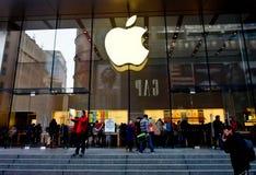 Κατάστημα της Apple, Σαγκάη, Κίνα 4 Στοκ εικόνες με δικαίωμα ελεύθερης χρήσης