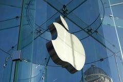 Κατάστημα της Apple στη Σαγγάη Στοκ εικόνα με δικαίωμα ελεύθερης χρήσης