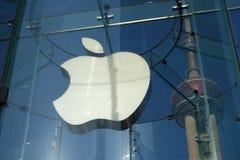 Κατάστημα της Apple στη Σαγγάη Στοκ Εικόνες