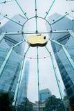 Κατάστημα της Apple στη Σαγκάη, Κίνα Στοκ Φωτογραφία