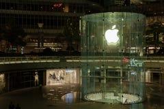 Κατάστημα της Apple στη Σαγκάη Κίνα Στοκ Φωτογραφίες