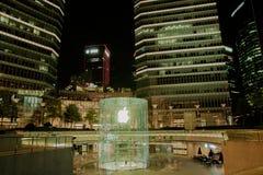 Κατάστημα της Apple στη Σαγκάη Κίνα Στοκ εικόνα με δικαίωμα ελεύθερης χρήσης