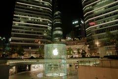 Κατάστημα της Apple στη Σαγκάη Κίνα Στοκ φωτογραφίες με δικαίωμα ελεύθερης χρήσης