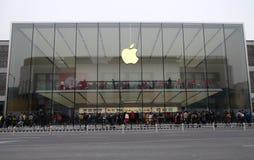 Κατάστημα της Apple στη δυτική λίμνη Hangzhou στην Κίνα Στοκ φωτογραφίες με δικαίωμα ελεύθερης χρήσης