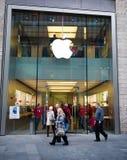 Κατάστημα της Apple στο Λίβερπουλ, UK Στοκ φωτογραφία με δικαίωμα ελεύθερης χρήσης