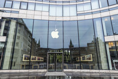 Κατάστημα της Apple στο Ντίσελντορφ, Γερμανία Στοκ Εικόνα
