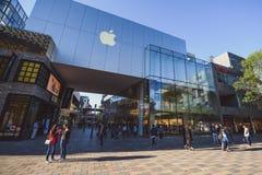 Κατάστημα της Apple στο Πεκίνο, Κίνα Στοκ φωτογραφία με δικαίωμα ελεύθερης χρήσης