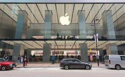 Κατάστημα της Apple στο δρόμο καντονίου, Χονγκ Κονγκ, Κίνα Στοκ Φωτογραφίες