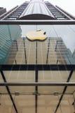 Κατάστημα της Apple στο δρόμο καντονίου, Χονγκ Κονγκ Στοκ φωτογραφία με δικαίωμα ελεύθερης χρήσης