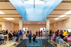 Κατάστημα της Apple στο Σαν Φρανσίσκο Στοκ Εικόνα