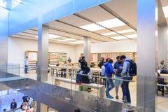 Κατάστημα της Apple στο Σαν Φρανσίσκο Στοκ εικόνα με δικαίωμα ελεύθερης χρήσης