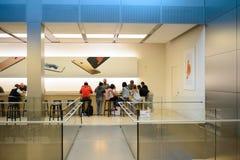Κατάστημα της Apple στο Σαν Φρανσίσκο Στοκ φωτογραφία με δικαίωμα ελεύθερης χρήσης