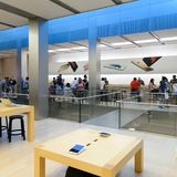Κατάστημα της Apple στο Σαν Φρανσίσκο Στοκ Φωτογραφίες