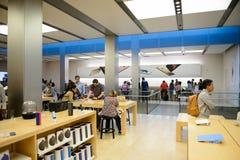 Κατάστημα της Apple στο Σαν Φρανσίσκο Στοκ Φωτογραφία