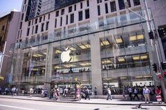 Κατάστημα της Apple στο Sidney Στοκ Εικόνα