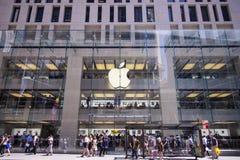 Κατάστημα της Apple στο Sidney Στοκ Εικόνες