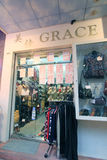 Κατάστημα της Grace στο Χογκ Κογκ Στοκ Εικόνες