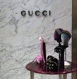 Κατάστημα της Gucci στο Άμστερνταμ Στοκ φωτογραφίες με δικαίωμα ελεύθερης χρήσης