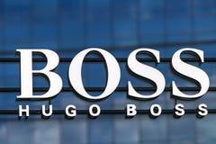 Κατάστημα της Hugo Boss στοκ φωτογραφίες