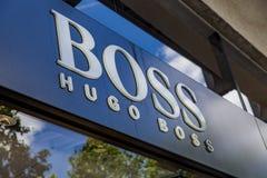 Κατάστημα της Hugo Boss Στοκ φωτογραφίες με δικαίωμα ελεύθερης χρήσης