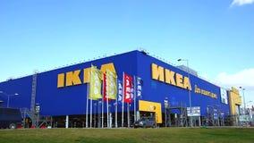 Κατάστημα της IKEA Samara Η IKEA είναι ο λιανοπωλητής παγκόσμιων ` s μεγαλύτερος επίπλων και πωλεί έτοιμο να συγκεντρώσει τα έπιπ φιλμ μικρού μήκους