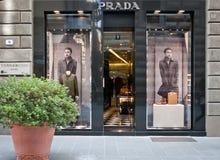 Κατάστημα της Prada Στοκ φωτογραφία με δικαίωμα ελεύθερης χρήσης