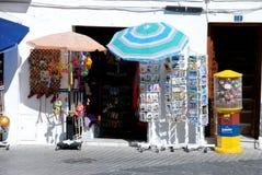 Κατάστημα τουριστών, Mijas Στοκ φωτογραφίες με δικαίωμα ελεύθερης χρήσης