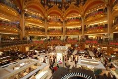 Κατάστημα του Λαφαγέτ Galeries, λεωφόρος αγορών, κτήριο, βιβλιοθήκη, παλάτι στοκ εικόνες