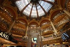 Κατάστημα του Λαφαγέτ Galeries, ορόσημο, ανώτατο όριο, τουριστικό αξιοθέατο, οικοδόμηση στοκ φωτογραφία με δικαίωμα ελεύθερης χρήσης